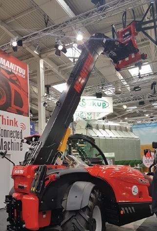 Передовые технологии Manitou Group на выставке Agritechnica 2019