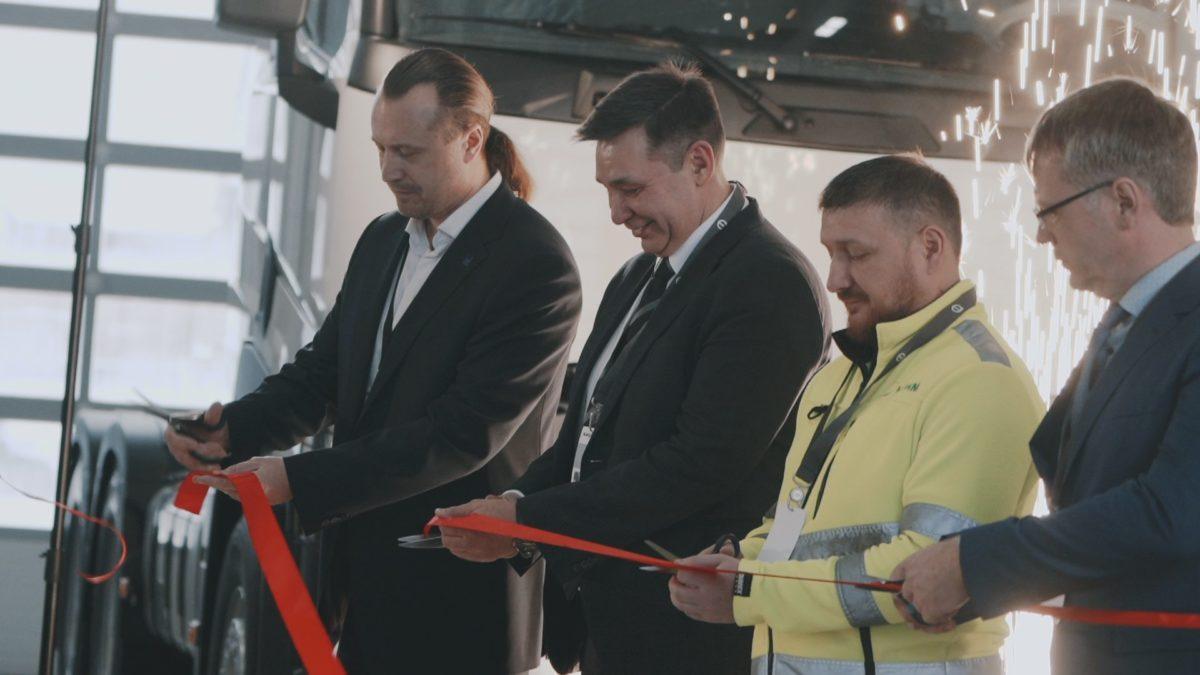 Volvo Group Trucks открыла авторизованную сервисную станцию в Братске