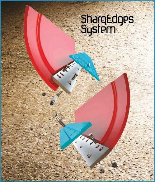 Грейдерные ножи Sharq для расчистки дорог