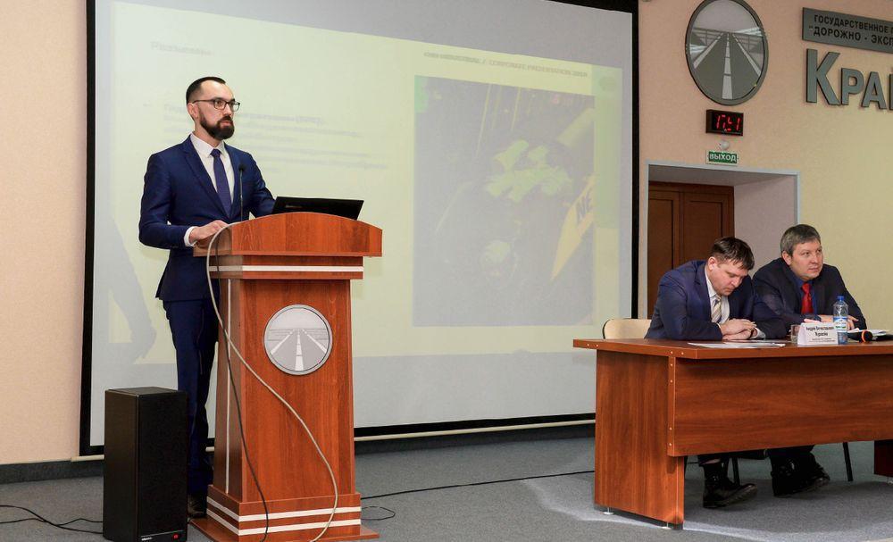 В Красноярске обсудили проблемы дорожной отрасли