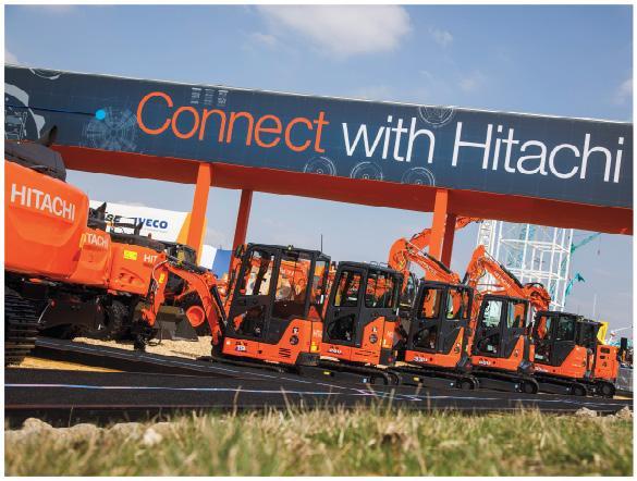 Hitachi Construction Machinery представила новинки на Bauma 2019