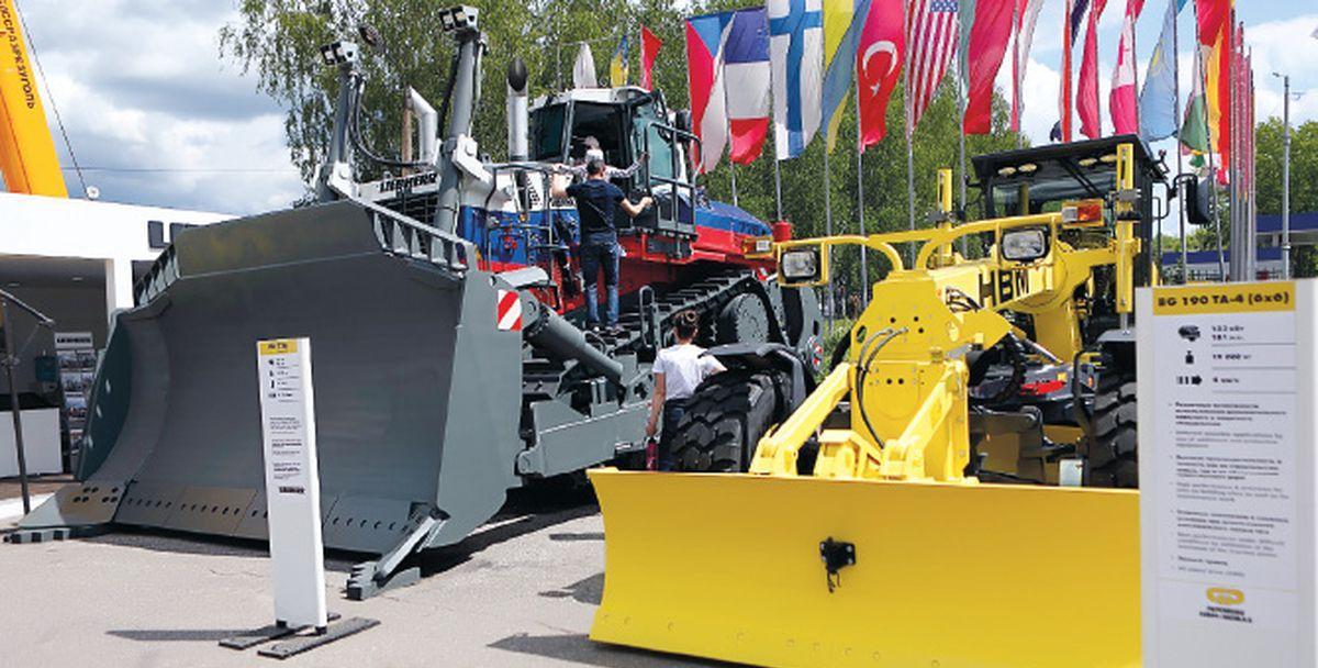 Liebherr представил современную технику на выставке Уголь России  и Майнинг