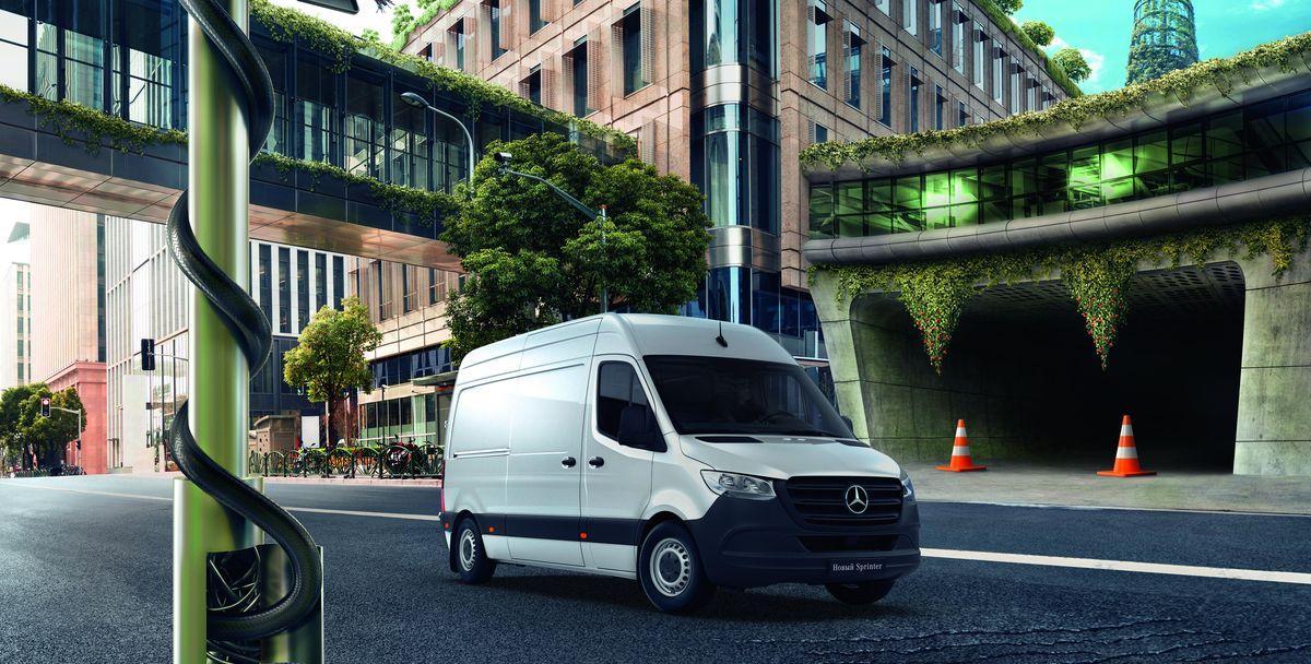 Mercedes-Benz представит линейку коммерческих автомобилей на COMTRANS 2019