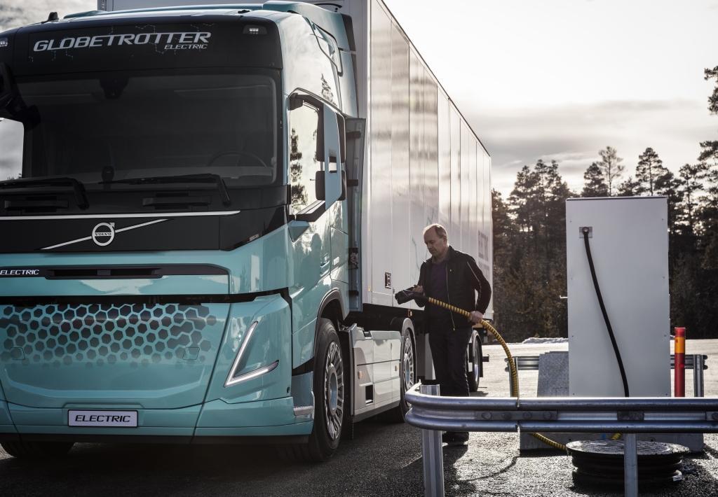 Концепты тяжелых электрогрузовиков от Volvo Trucks