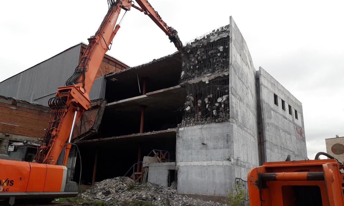 Культура сноса зданий в России