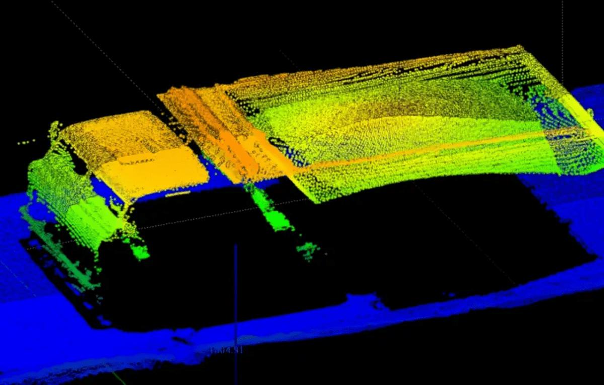 LaseTVM-3D-M - измерение динамического объема грузовых автомобилей