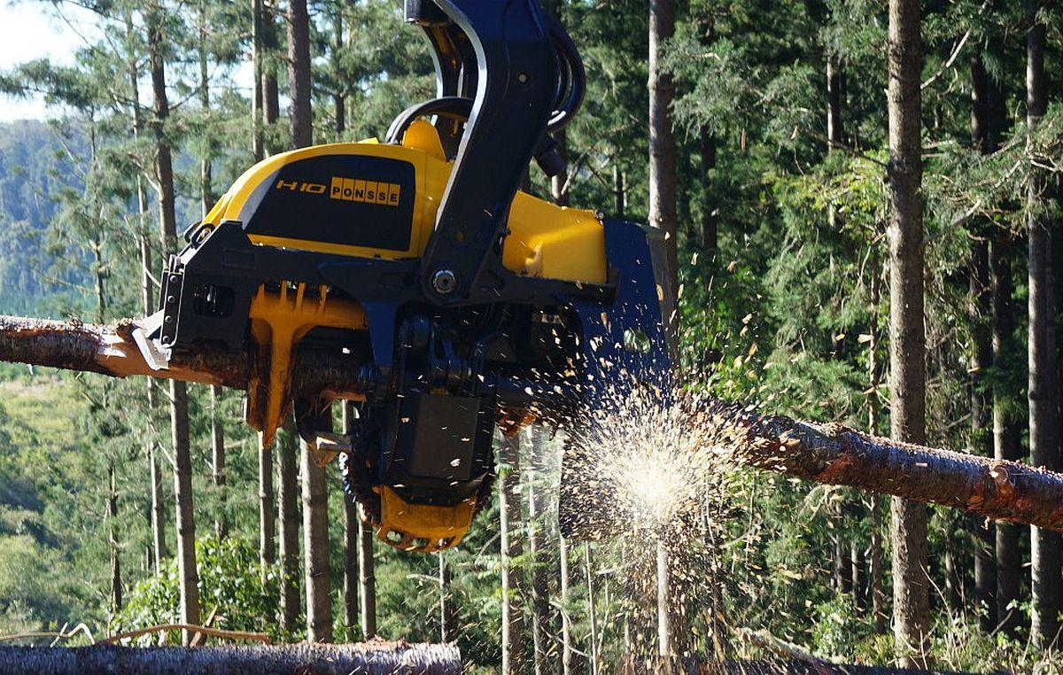 Харвестерные головки PONSSE для эффективной лесозаготовки