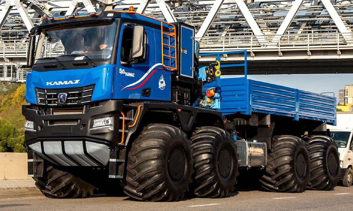 КАМАЗ взял курс на высокую локализацию новых грузовиков
